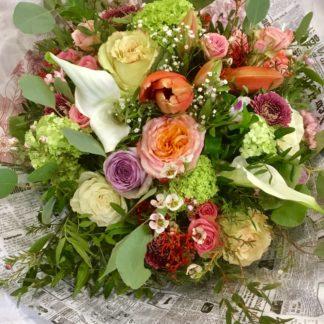 bouquet vaporeux et champetre