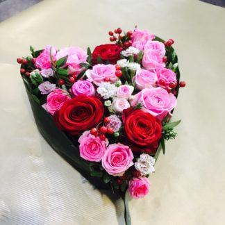 coeur en fleurs