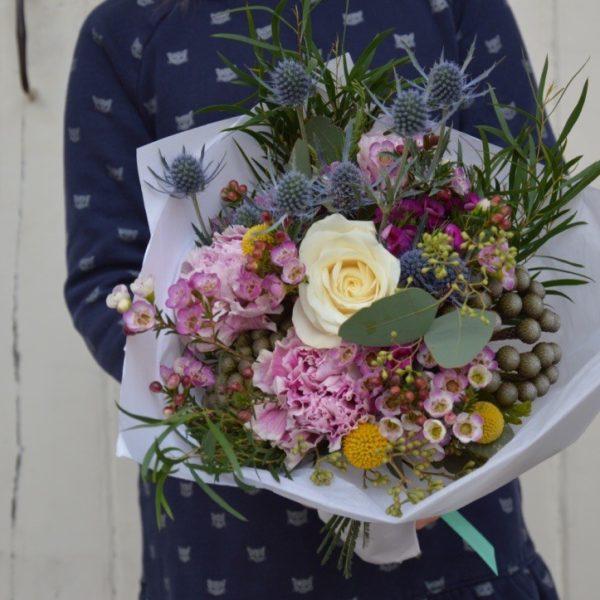 bouquet champetre coloré
