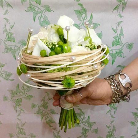 bouquet avec structure