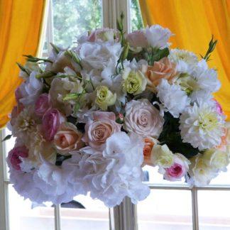 bouquet blanc de fleurs