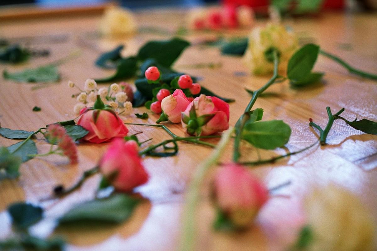 Création de bouquet réalisé par des artisans fleuriste