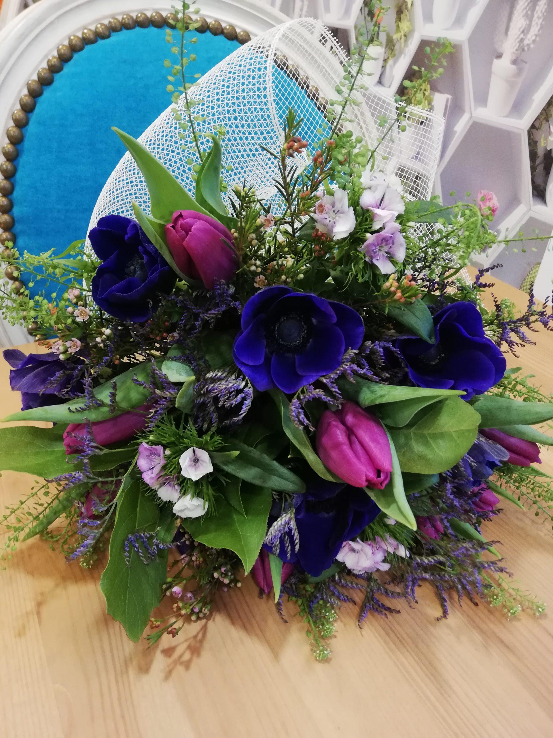 Bouquet champêtre - Le trèfle à quatre fleurs, fleuriste à ...