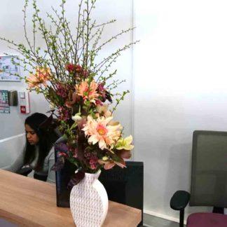 Abonnement florale hebdomadaire