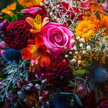 votre artisan fleuriste vous propose le bouquet : Bouquet multivitaminé