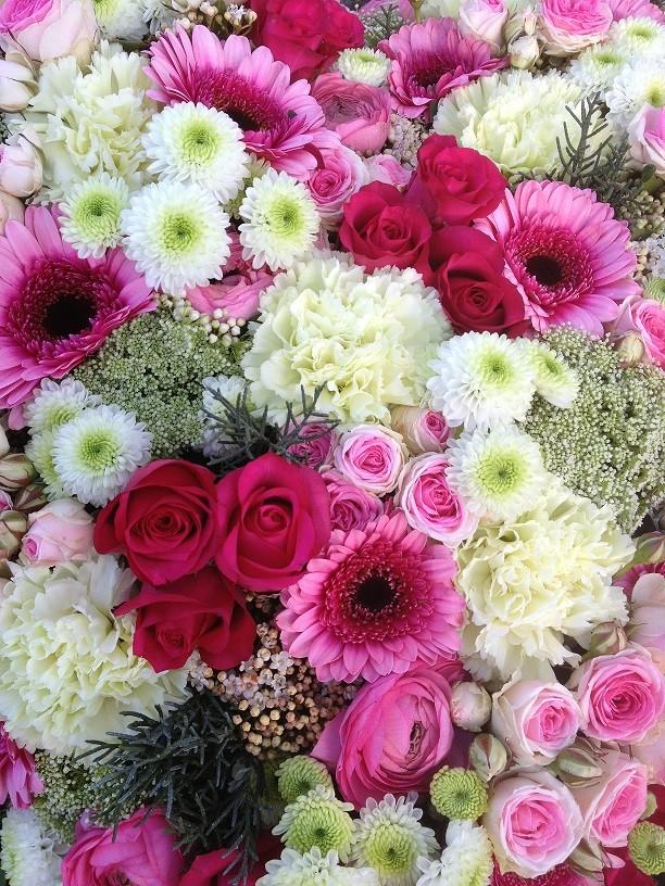 Bouquet fuchsia