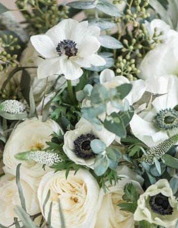Le bouquet blanc de votre artisan fleuriste