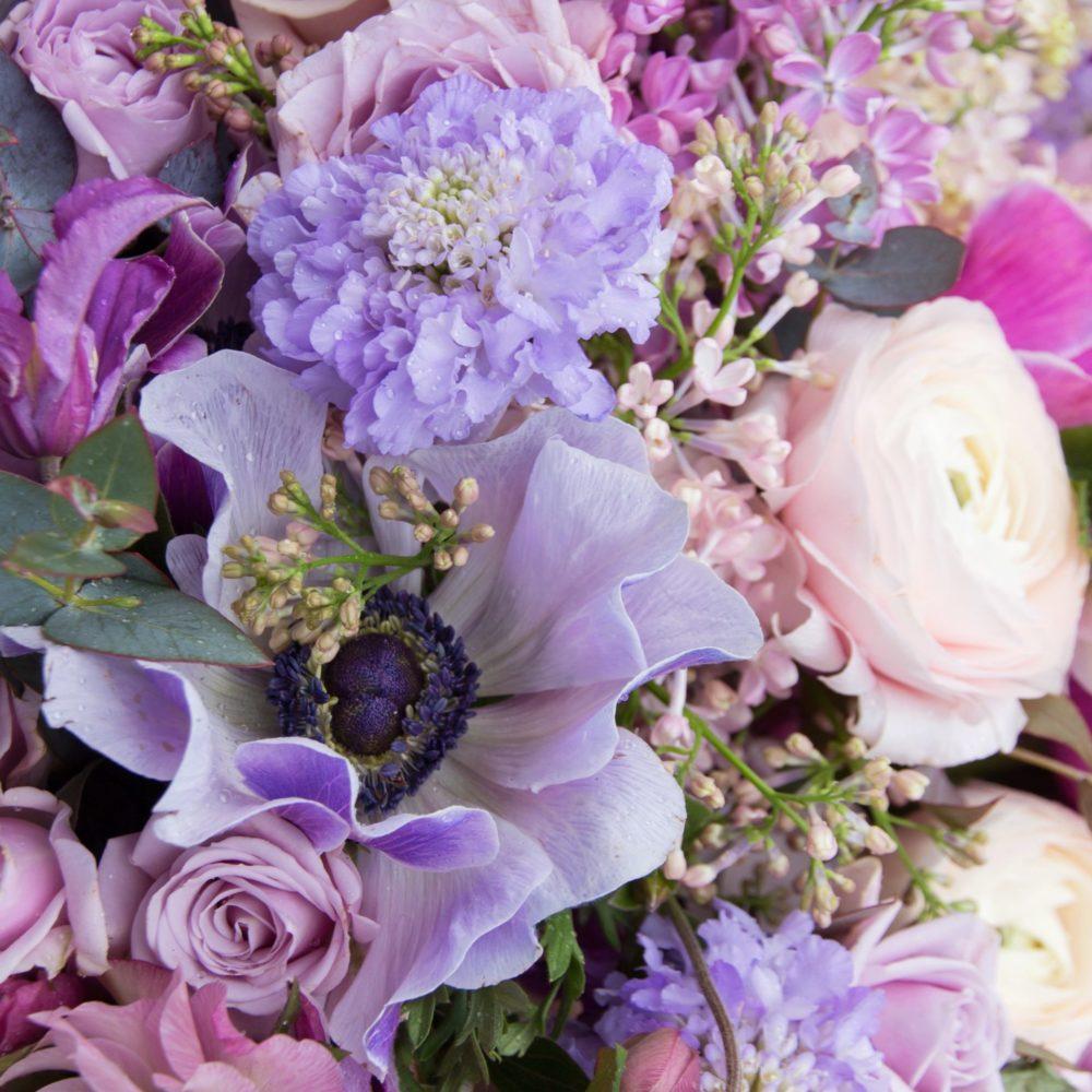 Bouquet parme violet