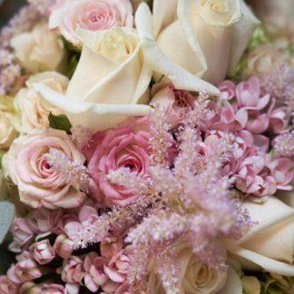 Le bouquet rose de votre artisan fleuriste