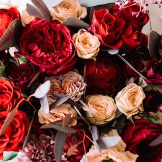 Le bouquet rouge de votre artisan fleuriste