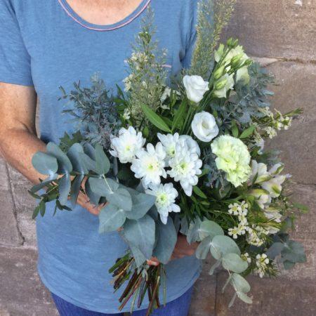 votre artisan fleuriste vous propose le bouquet : Bianca