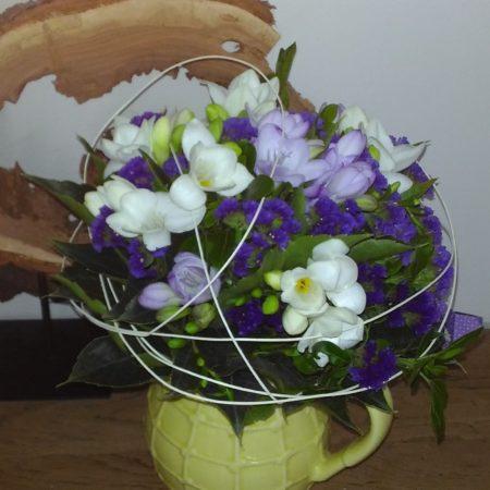 votre artisan fleuriste vous propose le bouquet : Bouquet Bleuté