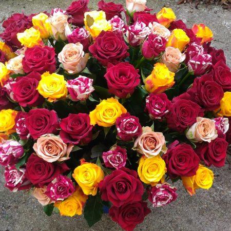 votre artisan fleuriste vous propose le bouquet : Bouquet Coup De Coeur