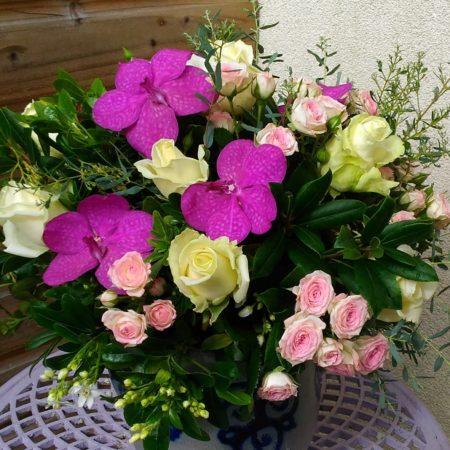 votre artisan fleuriste vous propose le bouquet : Bouquet Tendre
