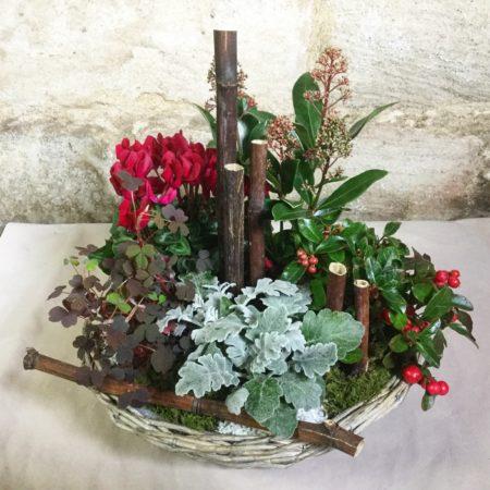 votre artisan fleuriste vous propose le bouquet : Hommage