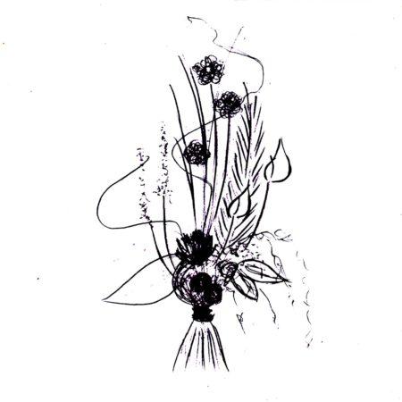 votre artisan fleuriste vous propose le bouquet : Graphisme