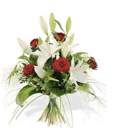 votre artisan fleuriste vous propose le bouquet : Bouquet Amour