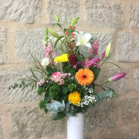 votre artisan fleuriste vous propose le bouquet : Tradition