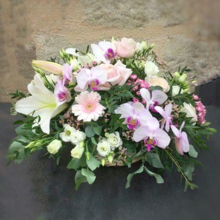 votre artisan fleuriste vous propose le bouquet : Soie