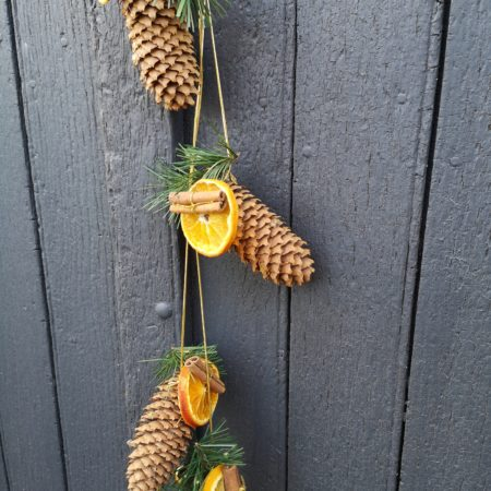 votre artisan fleuriste vous propose le bouquet : Grelots De Pommes De Pin