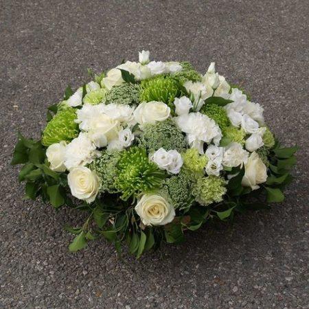 votre artisan fleuriste vous propose le bouquet : Deuil: Coussin