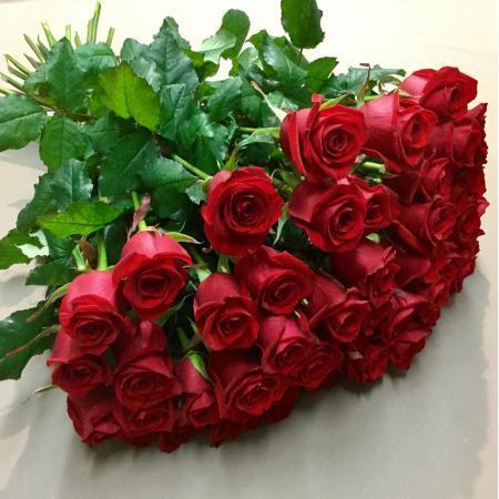 votre artisan fleuriste vous propose le bouquet : Bouquet de roses à l'unité