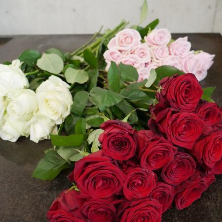 votre artisan fleuriste vous propose le bouquet : Bouquet de roses (à l'unité)