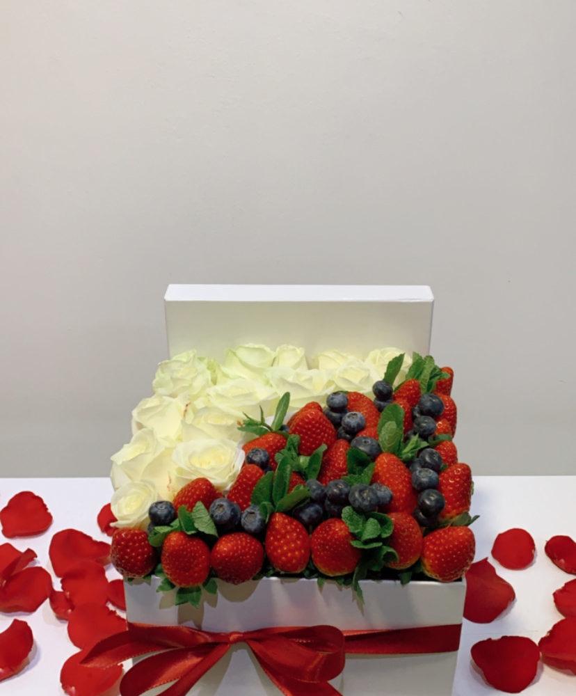 Box Fruits Et Roses