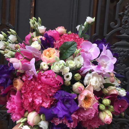 votre artisan fleuriste vous propose le bouquet : Bouquet Extravagance