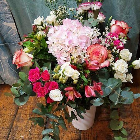 votre artisan fleuriste vous propose le bouquet : L'Intemporel