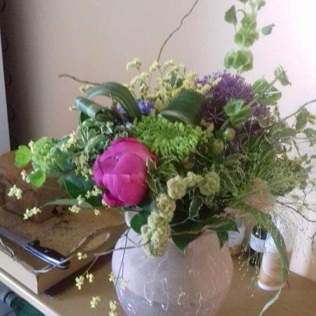 votre artisan fleuriste vous propose le bouquet : Bouquet Nature