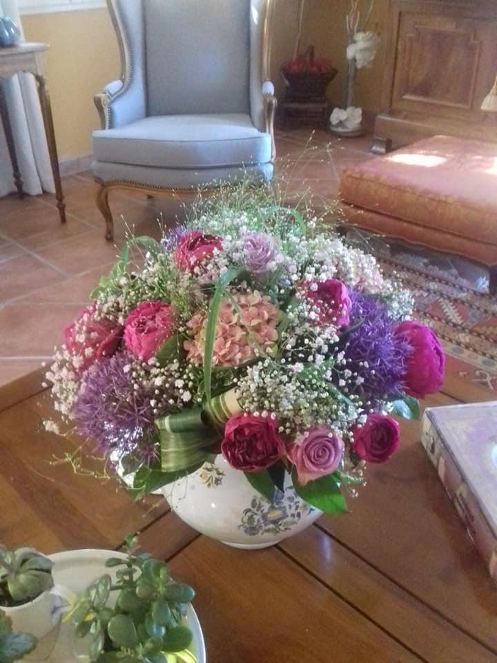 Bouquet Nature 60cm diamètre