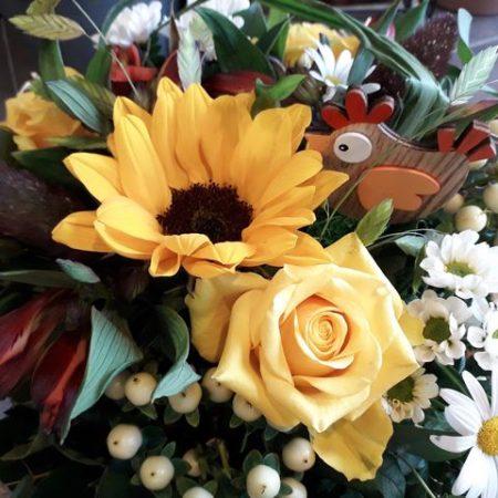 votre artisan fleuriste vous propose le bouquet : Bouquet Explosif