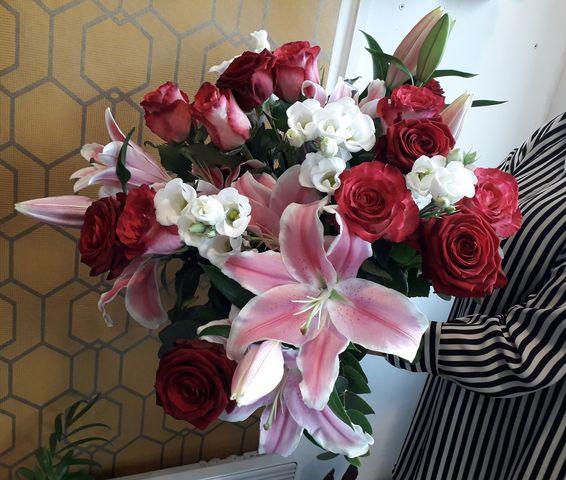 Bouquet Rouge & Blanc
