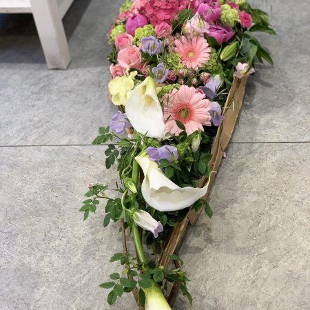 votre artisan fleuriste vous propose le bouquet : Goutte deuil