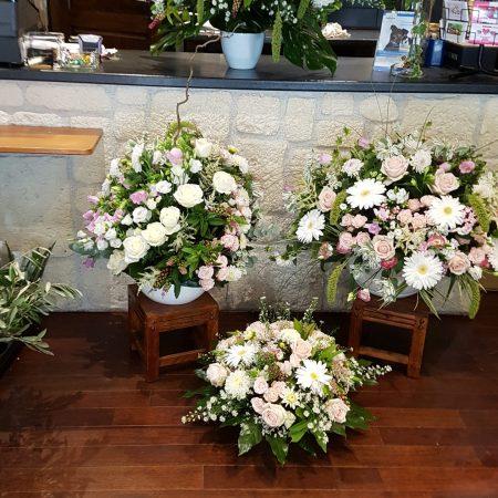 votre artisan fleuriste vous propose le bouquet : Composition de fleurs coupées