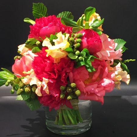 """votre artisan fleuriste vous propose le bouquet : Bouquet rond """"season"""""""