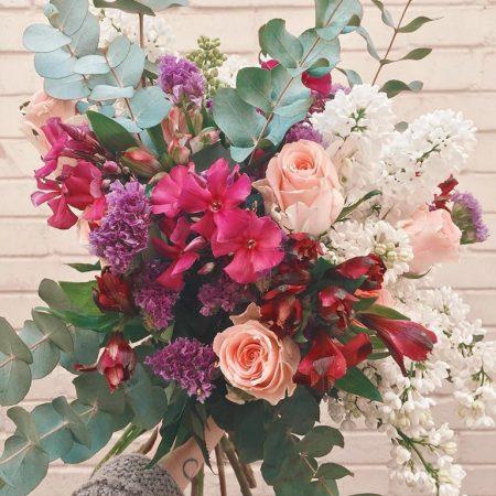 votre artisan fleuriste vous propose le bouquet : Bouquet eucalyptus