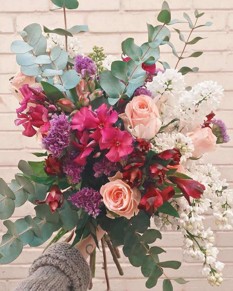 Bouquet eucalyptus