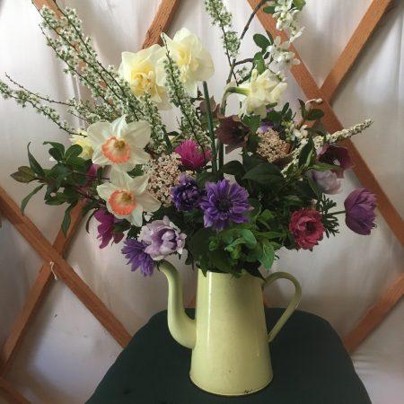 votre artisan fleuriste vous propose le bouquet : Bouquet de Fleurs Locales et de Saison - #1