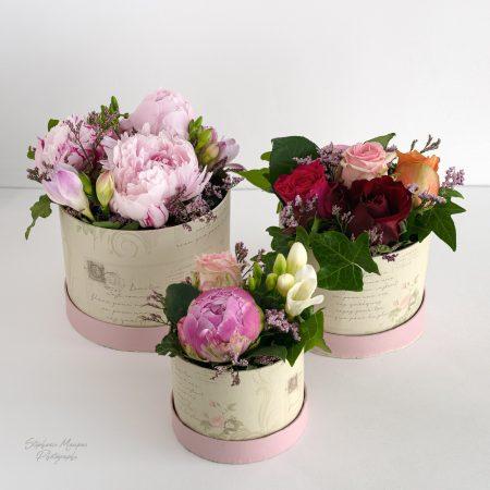votre artisan fleuriste vous propose le bouquet : Coffret fleuries