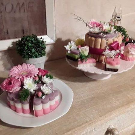 votre artisan fleuriste vous propose le bouquet : LES GOURMANDISES