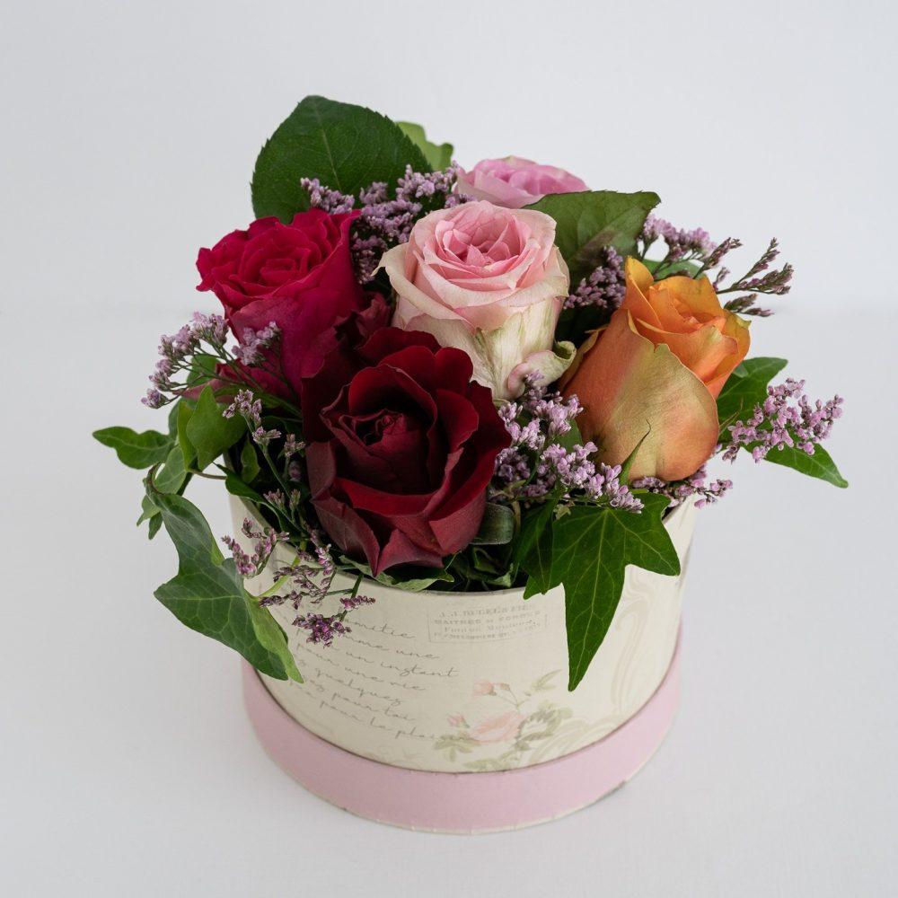 Coffret de Roses