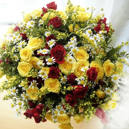 votre artisan fleuriste vous propose le bouquet : Bouquet frais