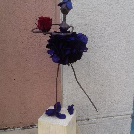 votre artisan fleuriste vous propose le bouquet : Mademoiselle Hortense