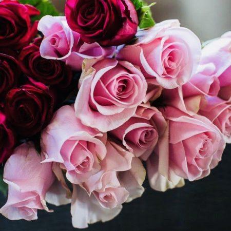 votre artisan fleuriste vous propose le bouquet : Roses de Le Camelia Tresses