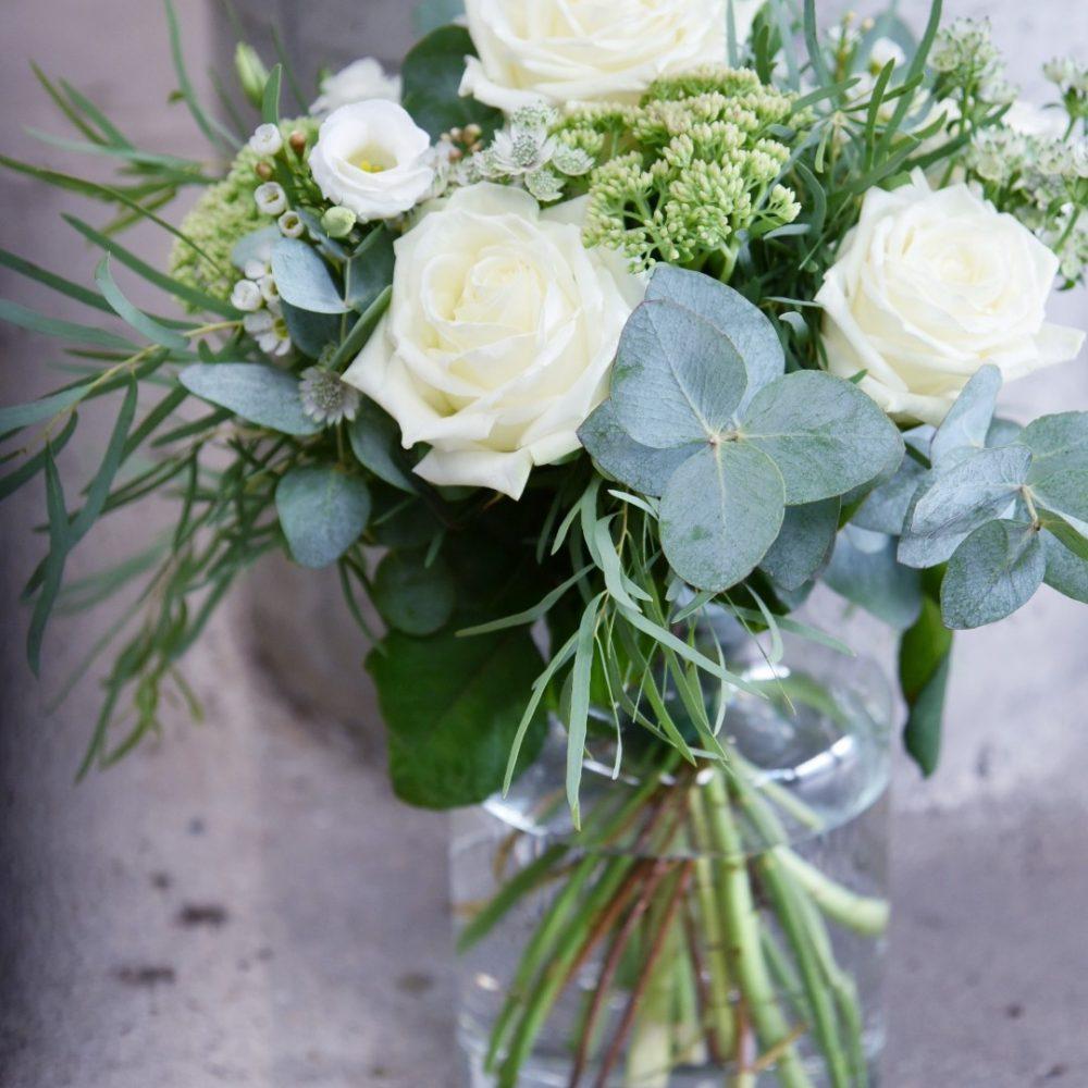 Bouquet Blanc & Vert