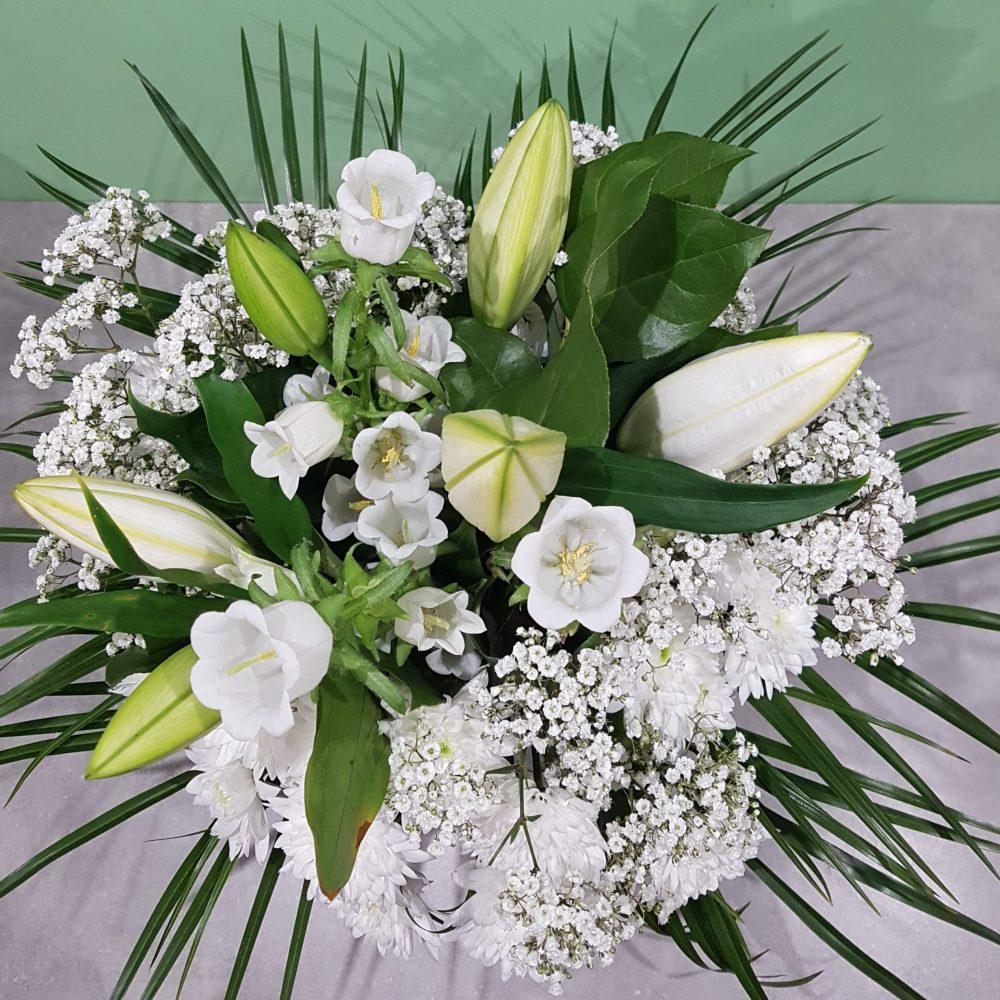 Bouquet Blanc Deuil