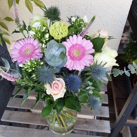 votre artisan fleuriste vous propose le bouquet : Bouquet bonheur