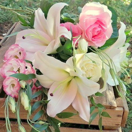 votre artisan fleuriste vous propose le bouquet : Bouquet classique